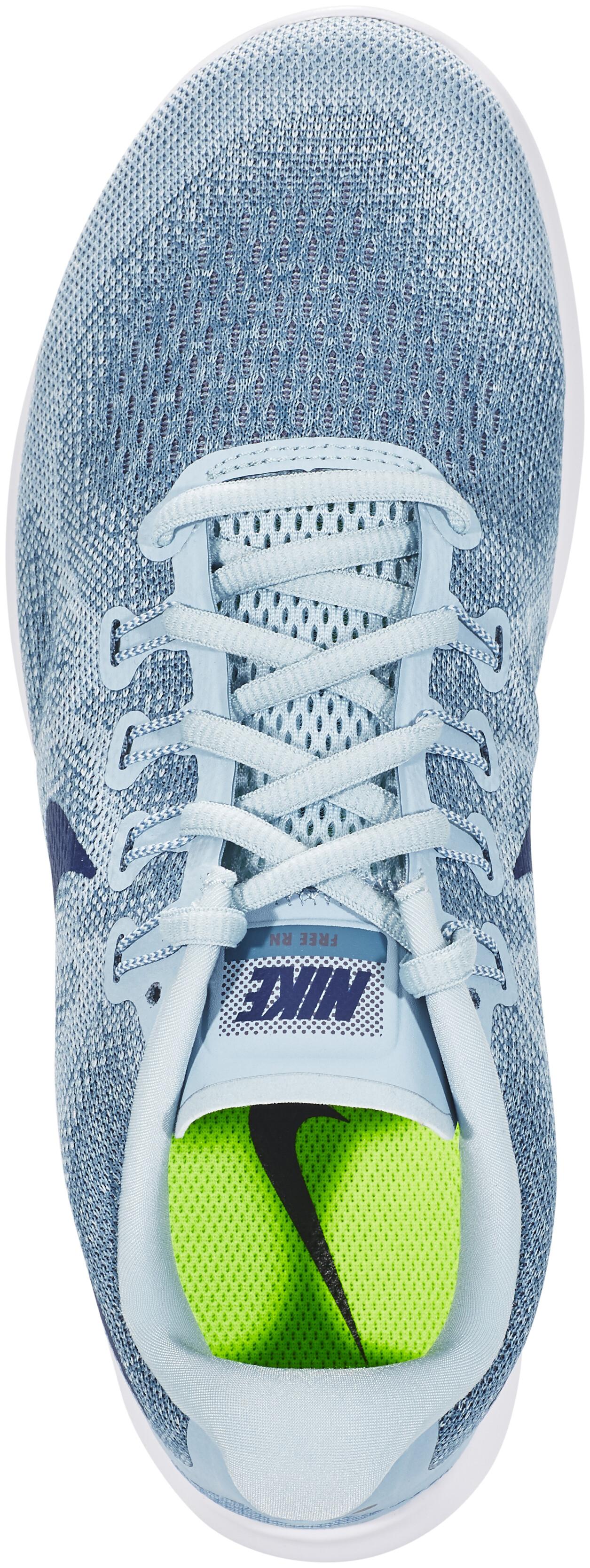 nike free rn 2017 running shoes women blue at addnaturecouk